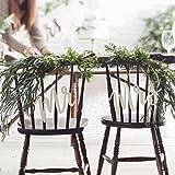 Chair Bunting 2 Stk Mr & Mrs Beautiful Botanics Holz Stuhldekoration Hochzeit