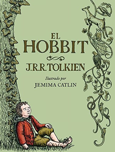 El Hobbit ilustrado por Jemima Catlin (Biblioteca J. R. R. Tolkien)