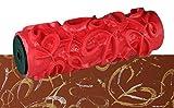 Musterrolle Effektwalze Schlingen Relief 18cm zum kreativen Strukturieren und Dekorieren von Wand und Decke mit Putz oder Farbe