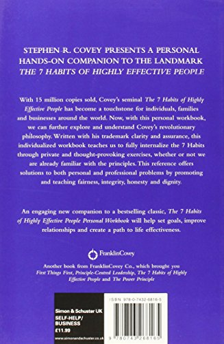 Image of The 7 Habits of Highly Effective People Personal Workbook (COVEY)