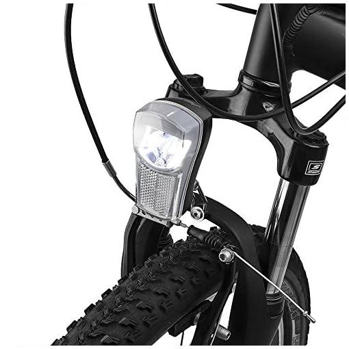 BV Luce Anteriore Bici, Faro Bicicletta Super Bright LED