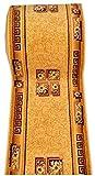WE LOVE RUGS CARPETO Läufer Teppich Flur in Beige Cream - Traditionell Europäisch Muster - Kurzflor Teppichlaufer Verona Kollektion 60 x 225 cm