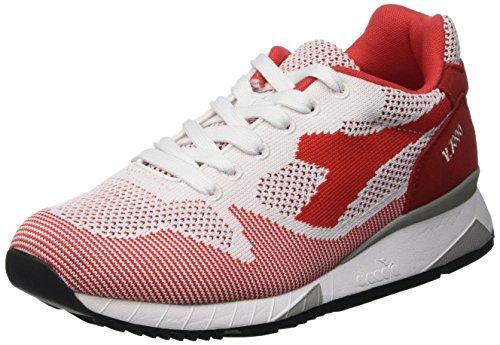 diadora-v7000-weave-pompes-a-plateforme-plate-mixte-adulte-rouge-rosso-45030-tomato-red-42-eu