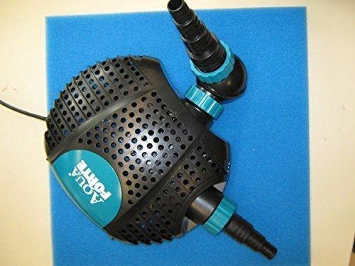 AquaForte Filter-/Teichpumpe O-Plus 15000, 135W, 15m³/h, Förderhöhe 6m