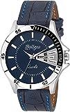 #5: Bollexo Analogue Blue Dial Men's And Boy's Watch-Gr-5040 Blue Matrix Collection