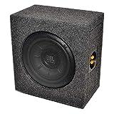 MEDIADOX/JBL - T5-810 - 20cm/200mm Mini/Kompakt Auto Gehäuse Subwoofer/Basskiste/Bassbox - 800 Watt Max