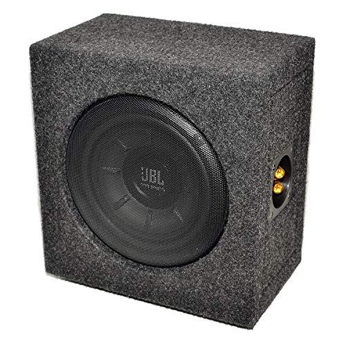 MEDIADOX/JBL - T5-810 - 20cm/200mm Mini/Kompakt Auto Gehäuse Subwoofer/Basskiste/Bassbox - 800 Watt Max 800w Auto Subwoofer