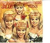 """JACOB, GESCHWISTER / AUS DER JUGENDZEIT / GARTENZWERG-MARSCH / Bildhülle / CBS # 3795 / Deutsche Pressung / 7"""" Vinyl Single Schallplatte / AM BRUNNEN VOR DEM TORE / ES KLAPPERT DIE MÜHLE / NUN ADE, DU MEIN LIEB HEIMATLAND /"""