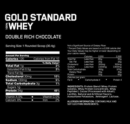 Zoom IMG-1 optimum nutrition gold standard proteine