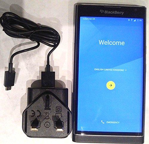 Blackberry Priv (QWERTY), AT&T Smartphone, 32GB, (Importiert),schwarz (9900 Att Blackberry)