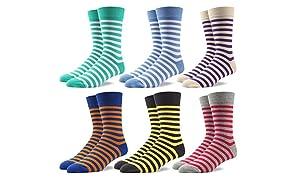 RioRiva Socken Herren - Fein Baumwoll - Gemustert und bunt - Europäische Qualität - Mehrfachpack