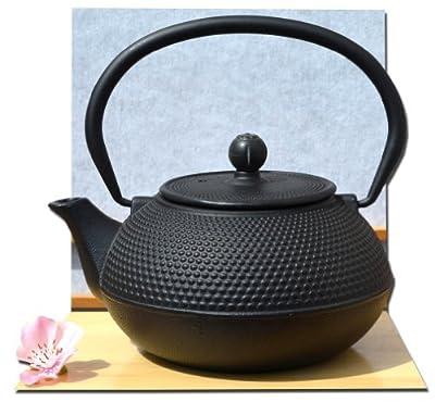 Théière en fonte style japonais Noir 0,6 l