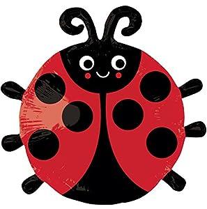 ANAGRAM 7A3245502 - Balón de fútbol con diseño de Mariquita Happy Ladybug