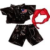 Biker Outfit fits Webkinz, Shining Star & 8\