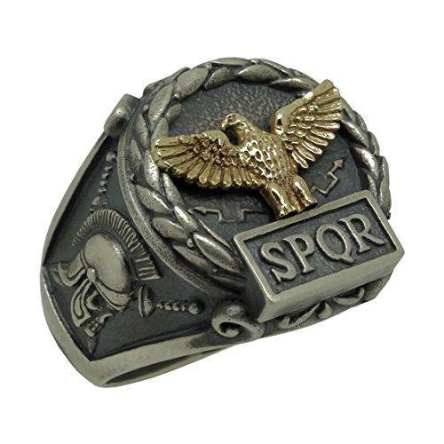 realizzato-a-mano-in-argento-sterling-925-e-oro-giallo-10-k-custom-made-empire-eagle-romano-spqr-sku