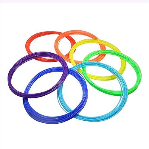 10 PACK 10M*1.75mm Imprimer Filament ABS Modeling stéréoscopiques pour le dessin 3D Printer Pen (10)