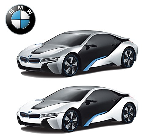 concept bmw i8 remote control cars for kids playtech logic pl615 licensed 124 scale model electric radio controlled bmw rc car toys boys girls gifts
