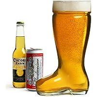 bar@drinkstuff - Bicchiere da birra a forma di stivale, ca.