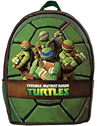 28a5032d91 Ninja Turtles Zaino Con Guscio Rigido, 46 cm, Verde