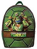 Ninja Turtles Zaino Con Guscio Rigido, 46 cm, Verde