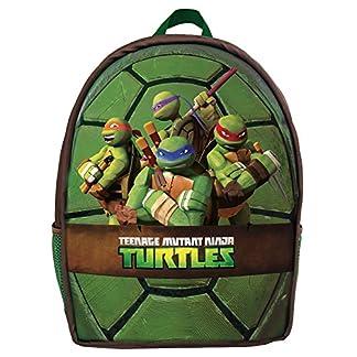 51pCsEYhvwL. SS324  - Ninja Turtles Mochila Infantil, Verde (Verde) - 42512