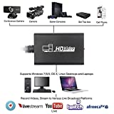 stca Video Capture Device HDMI to USB 3.0 Full HD Live Video Capture Game Capture Recording Box Dual HDMI USB 3.0 Adapter Video & Audio Grabber for Xbox PS4 by SaiRetail.Com