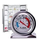 Teabelle frigorifero congelatore termometro frigo quadrante da appendere in acciaio INOX tipo supporto