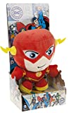 DC COMICS - Peluche avec Blister du personnage 'Flash' (18cm) du héros du film, dessins et bandes dessinées 'THE FLASH' - Qualité Super Soft