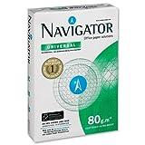 Navigator Universal Réf. NUN0800033 Papier imprimante multifonction avec 5 ramettes de 500 feuilles 80 g/m² Format A4