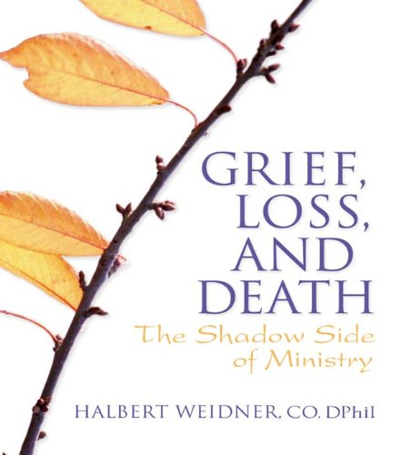 Grief, Loss, and Death: The Shadow Side of Ministry (Haworth Series in Chaplaincy) por Andrew J Weaver