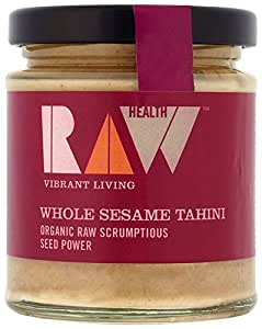 NIL Raw Health Organic Whole Sesame Tahini, 170g