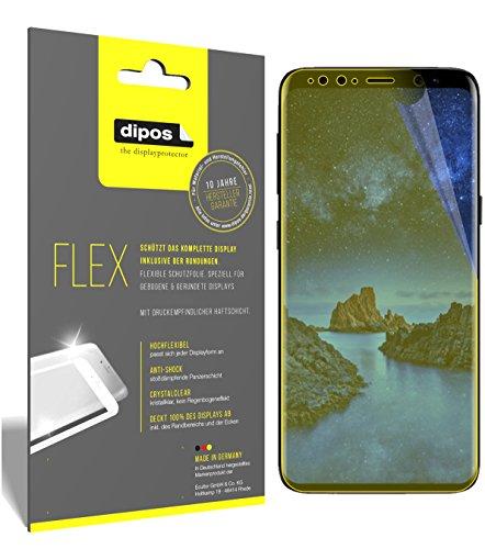dipos I 3X Schutzfolie 100prozent passend für Samsung Galaxy S9 Folie (Vollständige Bildschirmabdeckung) Bildschirmschutzfolie