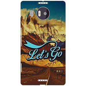 Microsoft Lumia 950 XL Printed Mobile Back Cover