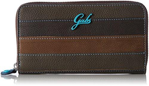 GABS - Gmoney17, Portafogli Donna Marrone (Fmt)