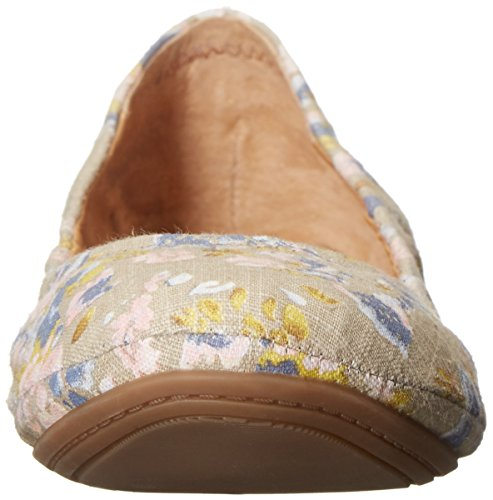 Lucky Brand Emmie Large Toile Ballerines Cobblestone-Floral