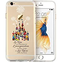 coque iphone 8 silicone disney princesse