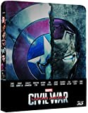 Captain America Civil War Steelbook 3D (2 Blu-Ray)
