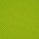 Baumwollpopeline: kleine Pünktchen - lime