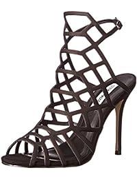 Steve Madden Women's Slithur Leather Fashion Sandals
