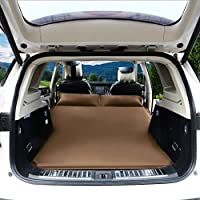 Zxb-shop Back Seat Sleep Pad Surface Car Travel Inflatable Mattress Air Bed Camping Inflatable Bed Car Inflatable Travel Air Mattress Bed (Color : C)
