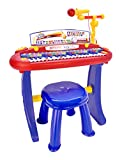 Bontempi Tastiera, Multicolore, 13 3441
