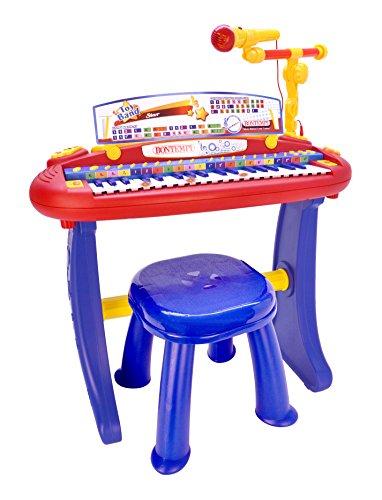 Bontempi tastiera, multicolore, 13 3441