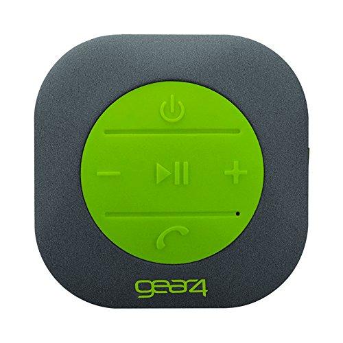 Gear4 PS023STG Shower Bluetooth Lautsprecher Stone Finish schwarz