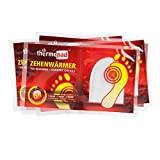 Thermopad Zehen-Wärmer | Angenehme Wärme für die Zehen | 37°C | ultra dünne Heiz-Pads | sofort einsetzbar | 6 Stunden intensive Wärme  | 5 Paare
