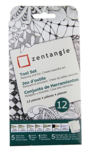 zentangle-art-set-12pc-white-tiles