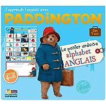 Paddington - Le poster ardoise alphabet anglais - Dès 5 ans