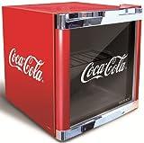Husky Cool Cube Mini-Kühlschrank Coca Cola Design / Energieeffizienzklasse B / Nutzinhalt 50l