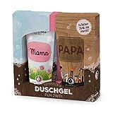 Duschgel für zwei ''Mama, Papa'' | Geschenkidee für Mann & Frau | Wellness Geschenk |...