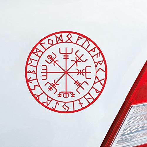Norse Viking Symbol 3d Line Lamp Compass Viking Runes Designed Lamp 3d Optical Illusion Lamp Decor Magical Stave Table Lamp Novelty Lighting