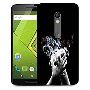 Snoogg High Five Designer Protective Phone Back Case Cover For Moto G 3rd Generation